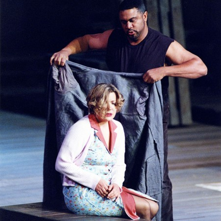 Michele in Il tabarro by Puccini (© Theatermuseum Düsseldorf)
