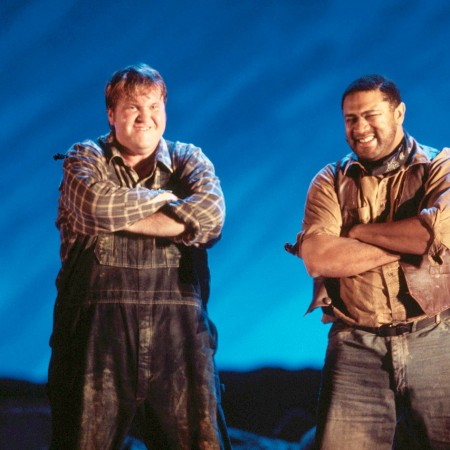 George Milton in Of Mice and Men by Floyd(© Bregenzer Festspiele / Karl Forster)