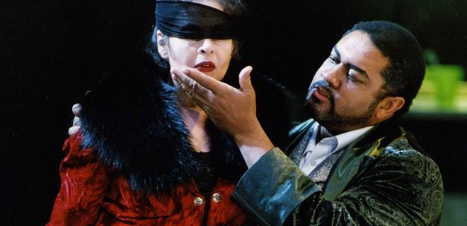 Scarpia in Tosca by Puccini (© Theatermuseum Düsseldorf)