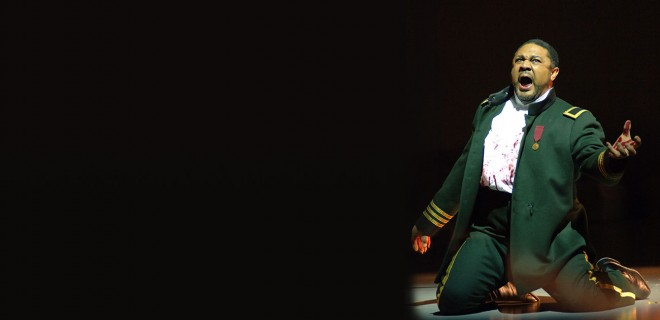Gordon Hawkins in Mac Beth Photo by Rozari Lynch